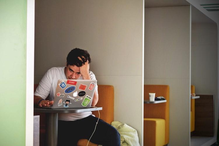 Isolated Freelancer