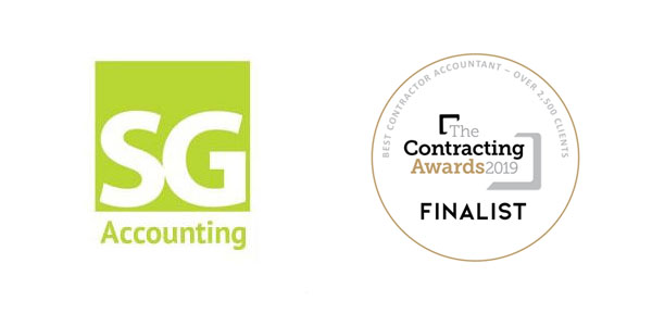 SG Accounting is a finalist for the Contracting Awards 2019